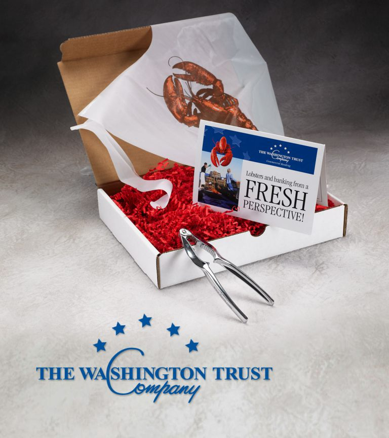 Washington Trust Bank dimensional mailer