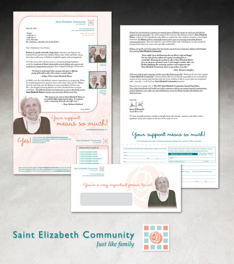 St. Elizabeth's Community Development Mailer
