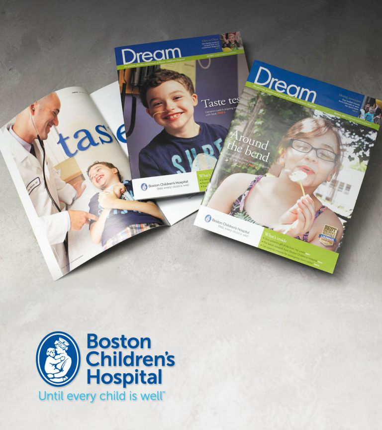 Boston Children's Hospital Dream Magazine