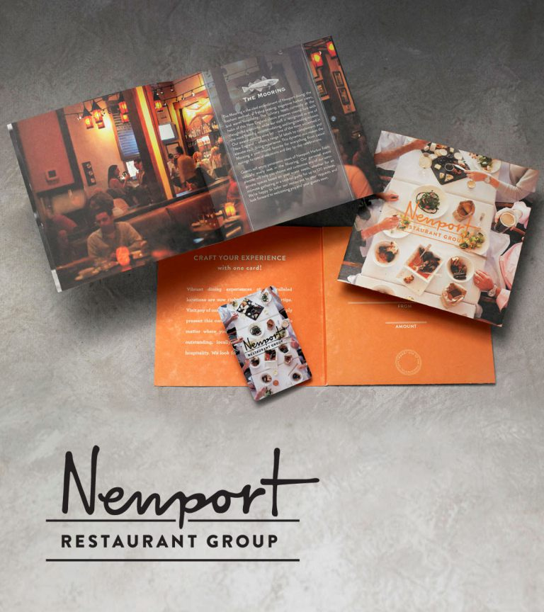 Newport Restaurant Group Menu and Card