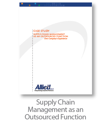 Supply Chain Management as an Outsourced Function