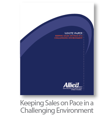 Keeping Sales on Pace in a Challenging Environment